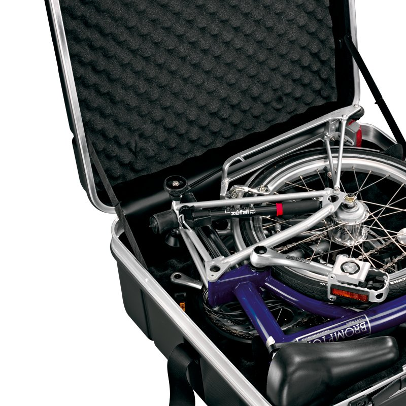 Perfect size for Brompton bikes