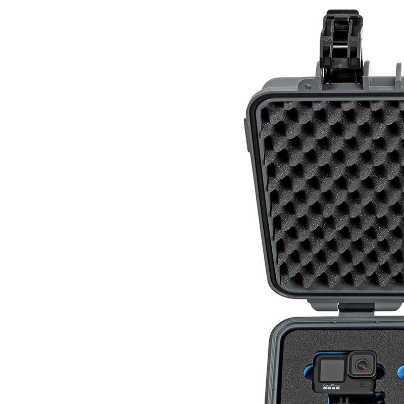 Inlay für fünf GoPro 9 & Zubehör