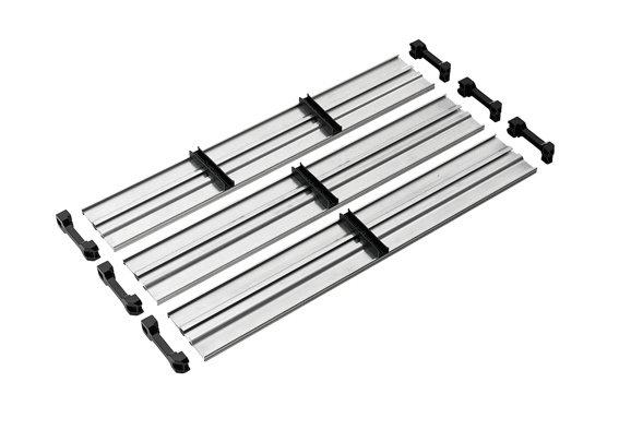 Made of rigid aluminum