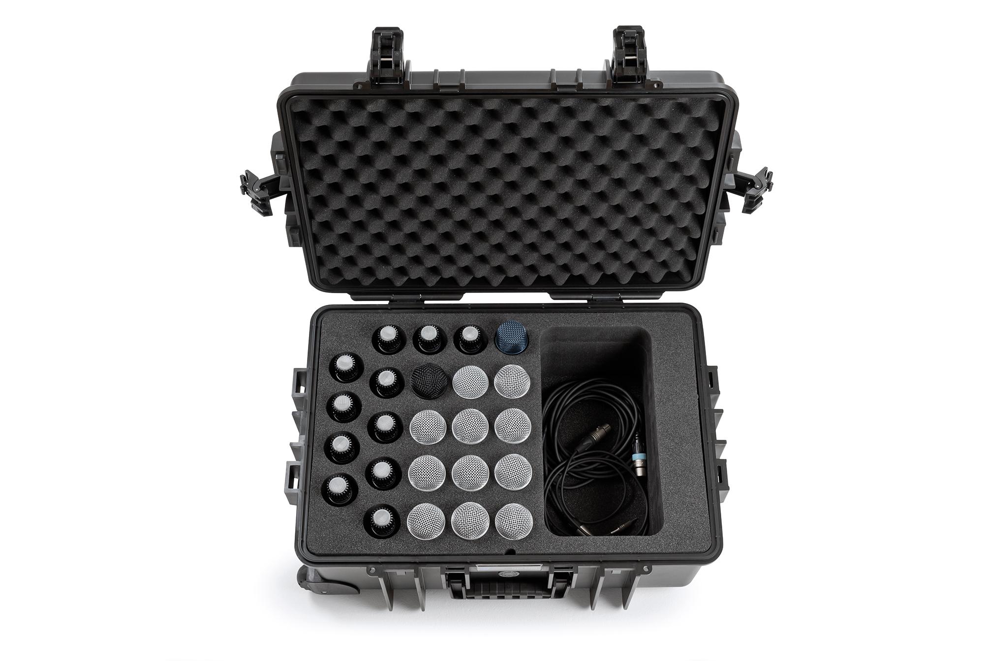 B&W outdoor.case für 24 Mikrofone | type 6700