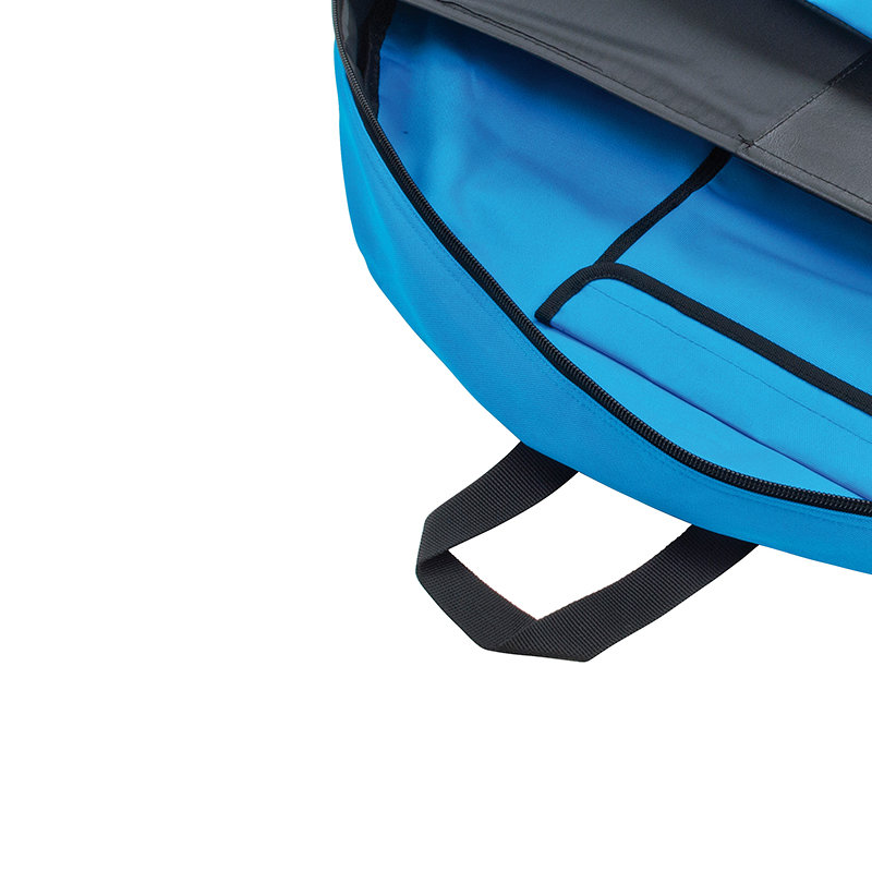 With convenient handles and shoulder strap