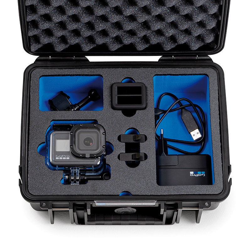 Inlay für eine GoPro 8 & Zubehör