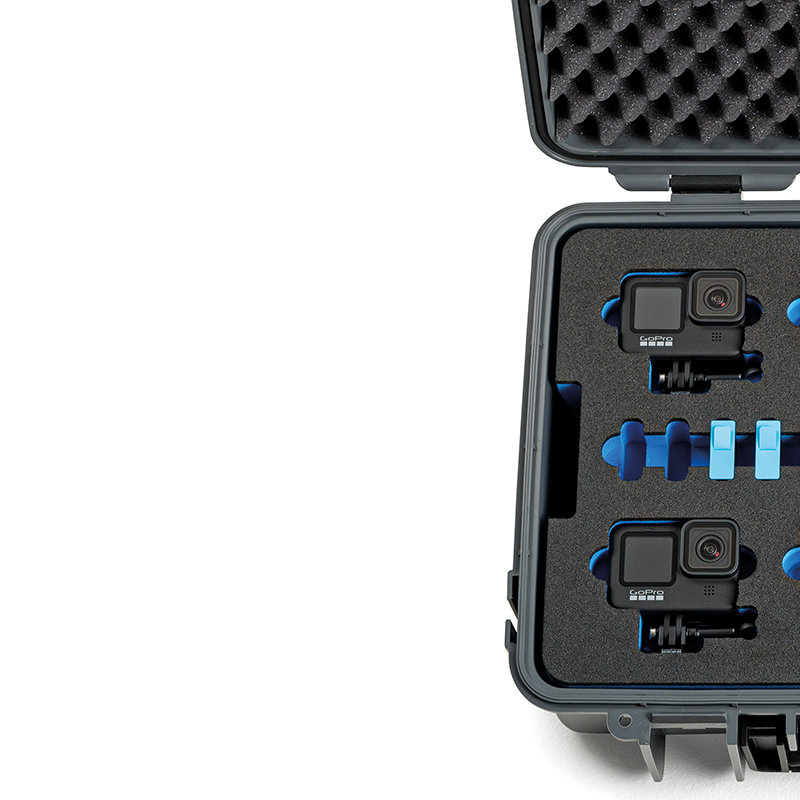 Inlay for five GoPro 9 & accessories